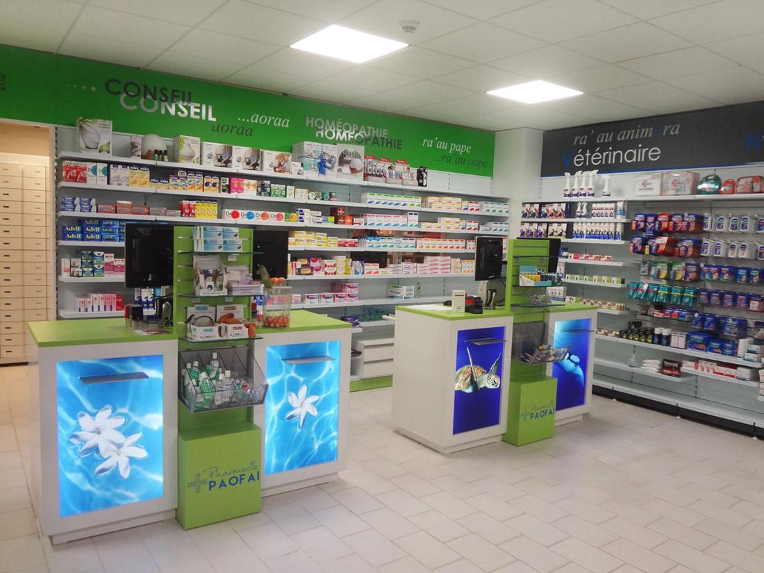 Architecture d 39 int rieur nos r f rences - Le comptoir des pharmacies ...